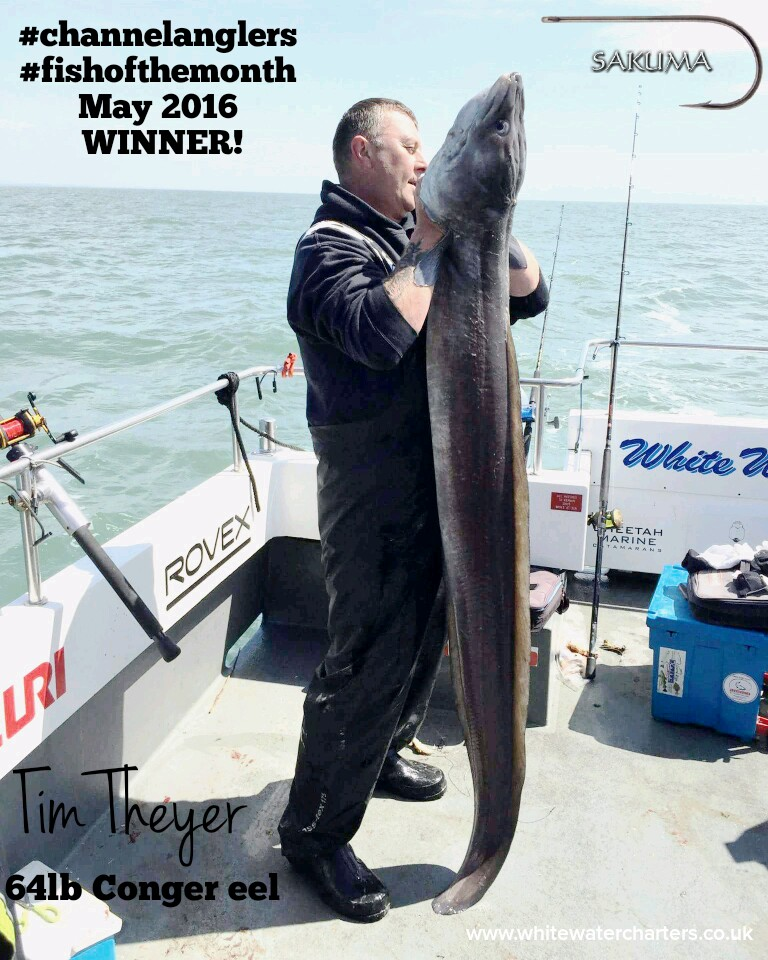 Fish of the Year, anyfish anywhere, Channel Anglers, James Madsen