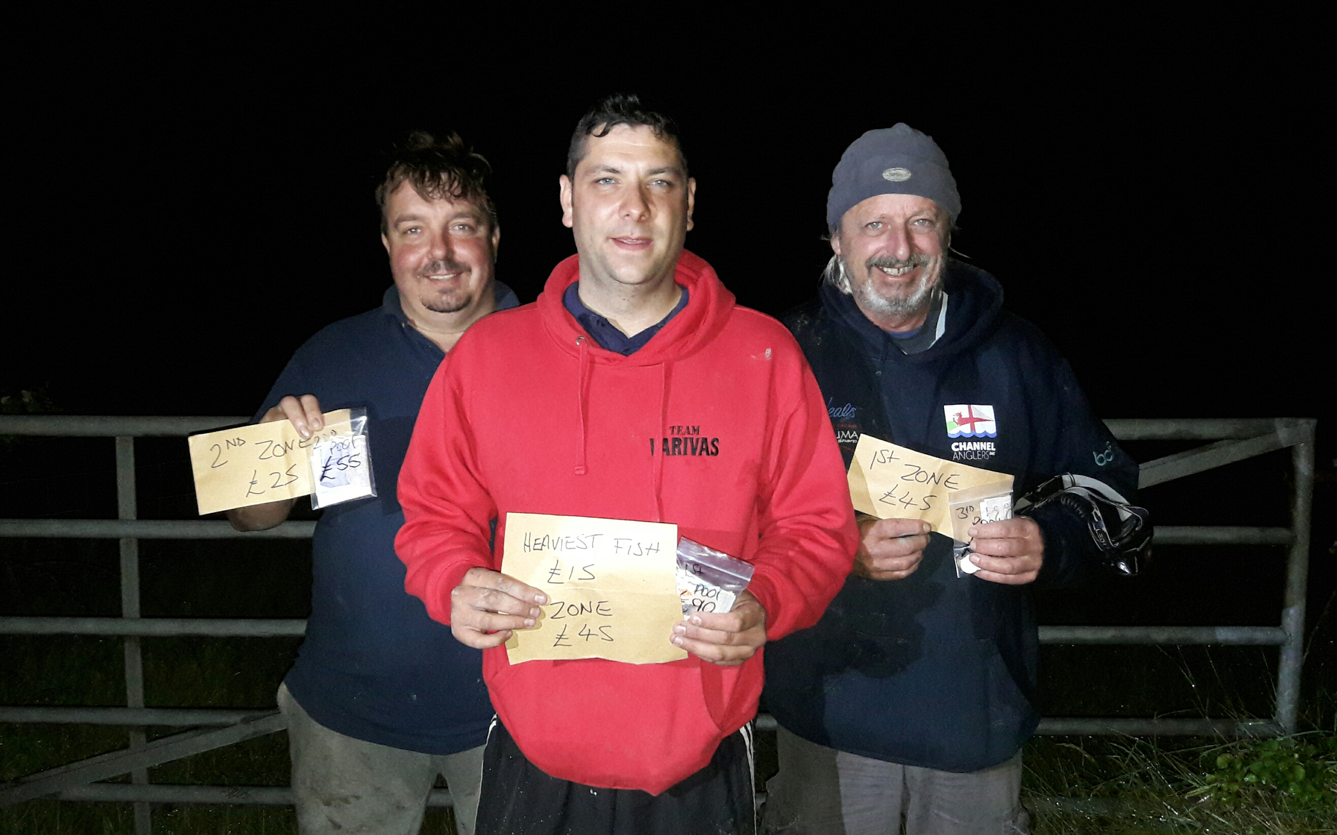 Aust, Veals League, Channel Anglers, James T Madsen,