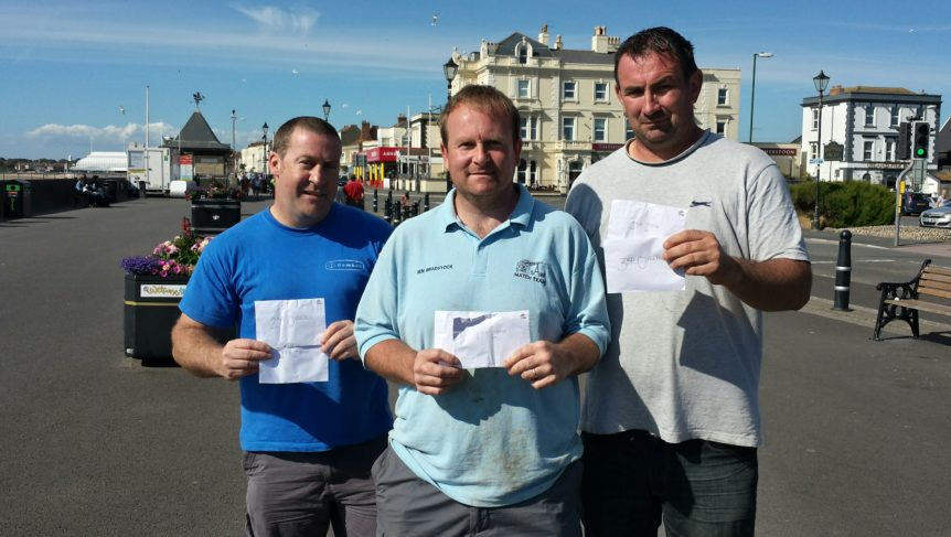 Channel Anglers, Burnham League, results,